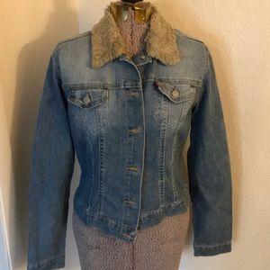 Levi's stonewashed jean jacket